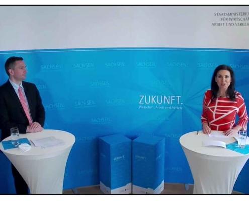 Rommy Arndt im Gespräch mit Martin Dulig